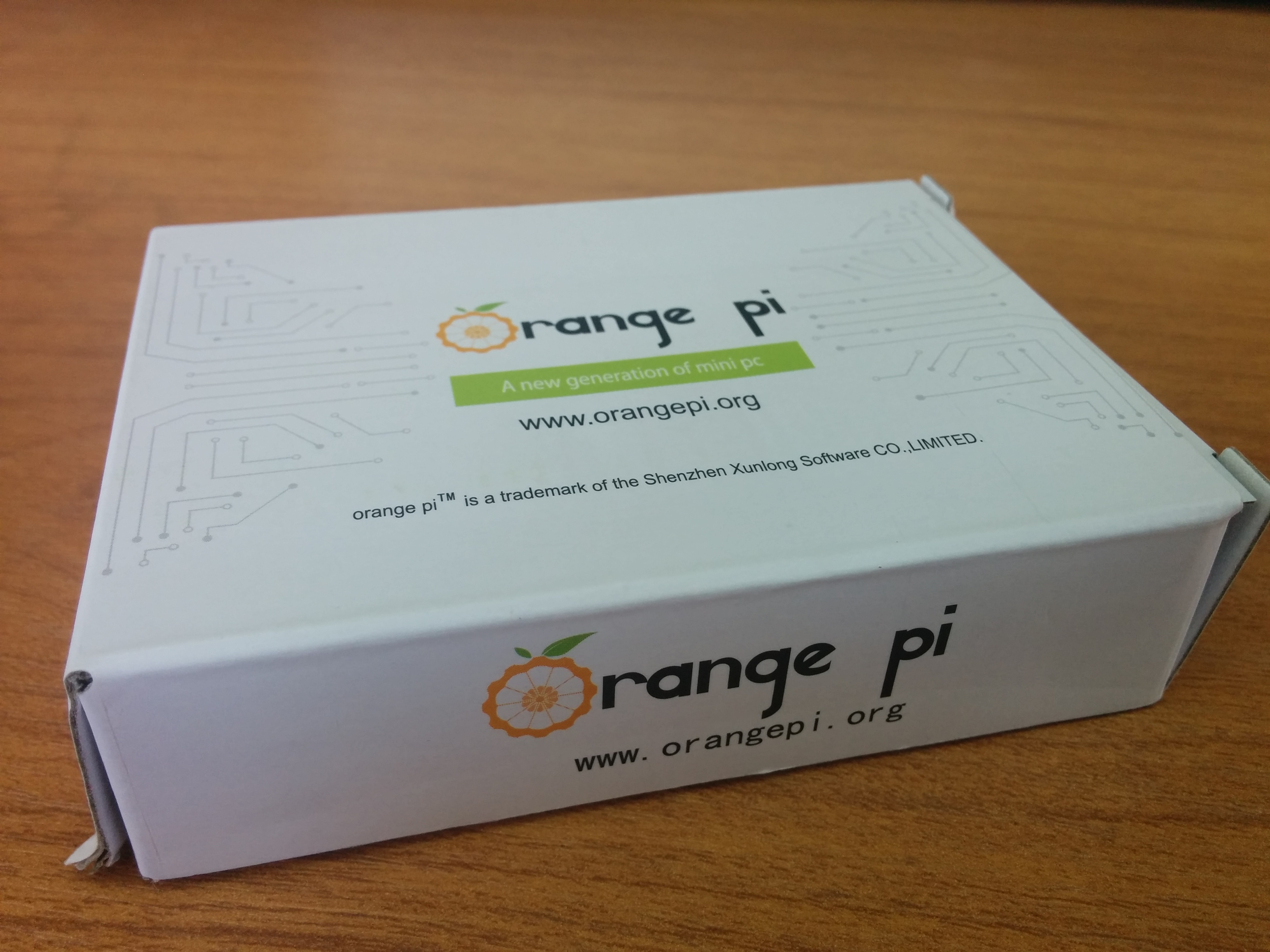 Orange Pi Lite упаковка